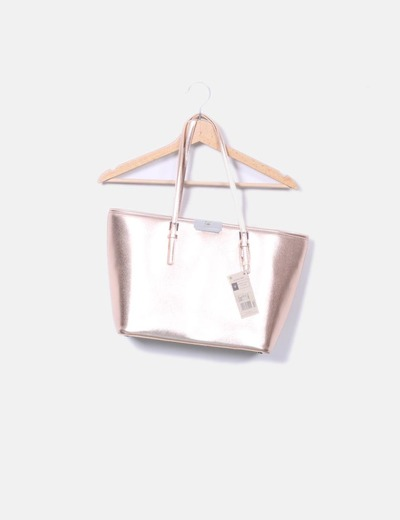 Shopper rosa gold