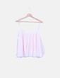 Blusa de tirantes plisada rosa Zara