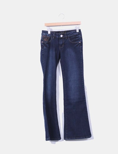 Jeans bleu foncé bell Monday