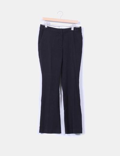 Pantalón negro de pinzas H&M