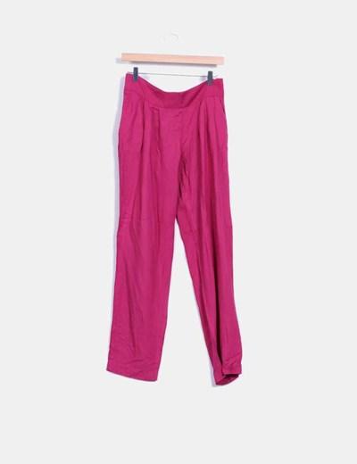 Vestido recto rosa Soyunachicanormal