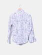 Camisa estampado floral BTS