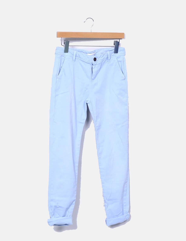 Cimarron baratos mujer Pantalón claro chino azul Pantalones tSAvBw ... 36be020b16e0