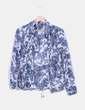 Camisa estampado floral azul Massimo Dutti
