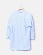 Camisa bordada a rayas Vikozen