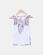 Camiseta combinada con rayas NoName
