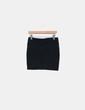 Mini falda negra ajustada Stradivarius