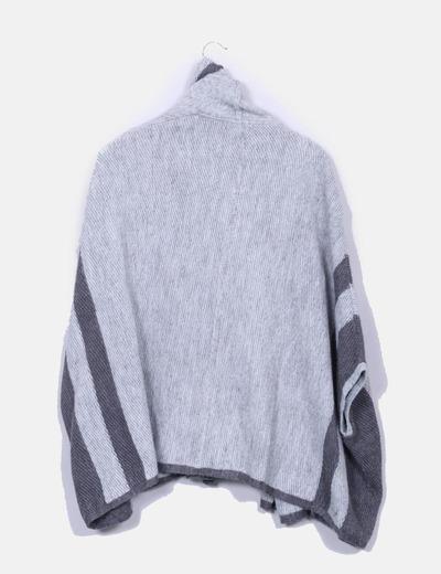 Capa lana gris