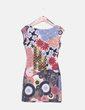 Vestido floral multicolor Desigual