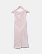 Vestido de punto rosa pastel Suiteblanco