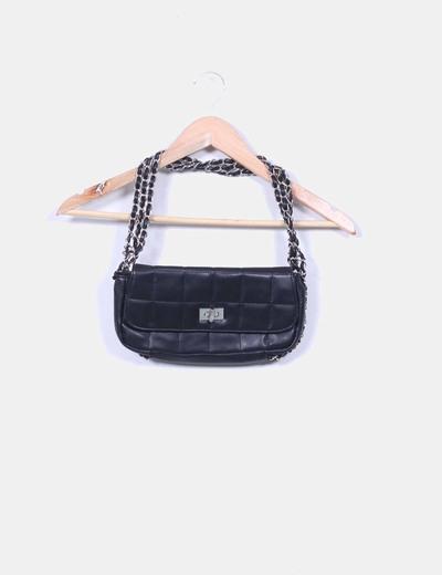 Bolso negro rectangular Suiteblanco