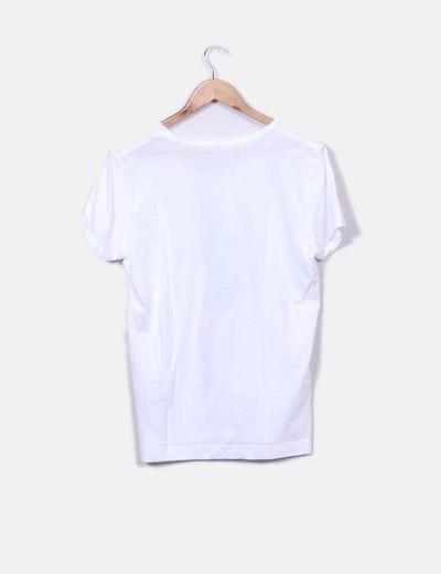 Camiseta Blanca Blanca Maniquí Blanca Camiseta Print Camiseta Camiseta Print Blanca Maniquí Print Maniquí tdBhsrCxoQ