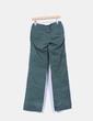 Pantalón verde  con bolsillos Pull&Bear