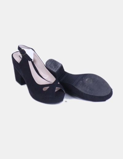 Zapatos destalonados negros