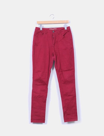 Pantalón burdeos Easy Wear