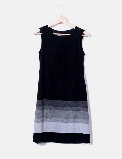 Zara Schwarzes Kleid und graue Textur (Rabatt 84 %) - Micolet 3ed1866ba4
