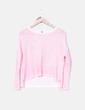 Jersey rosa flúor tail hem H&M