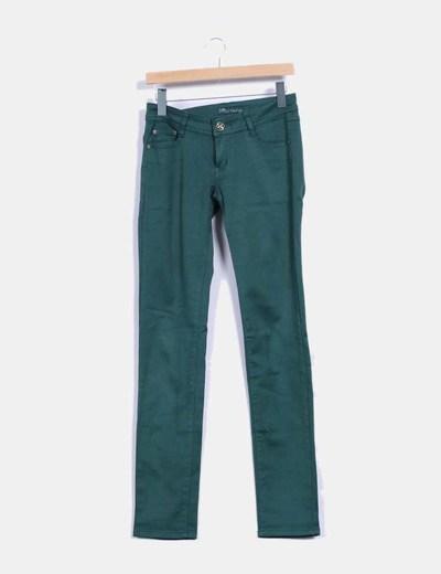 Pantalón recto verde Ld,style
