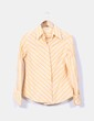 Camisa de rayas amarilla Massimo Dutti