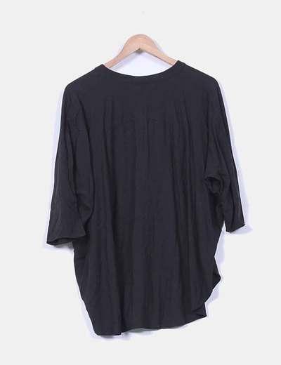 Bluson negro oversize