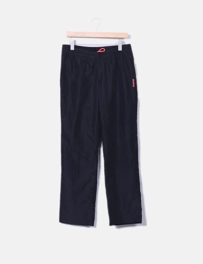Pantalons noirs de sport Reebok