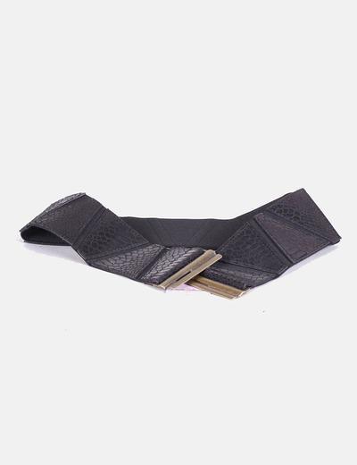 Cinturón negro elástico Amichi