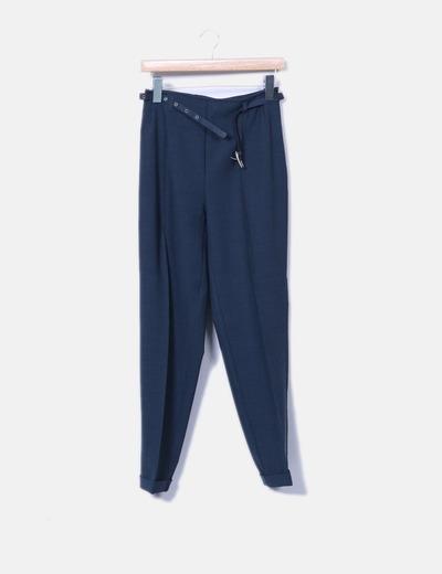 Pantalón de traje azul Don Algodón