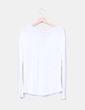 Camiseta cruda combinada Zara