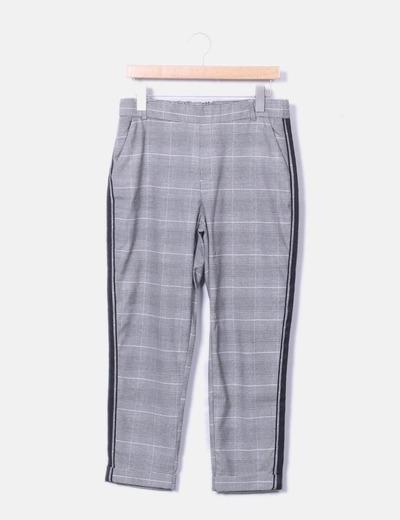 Quadri Chino A Grigi Micolet 59 sconto Zara Pantaloni qwgtx8qz