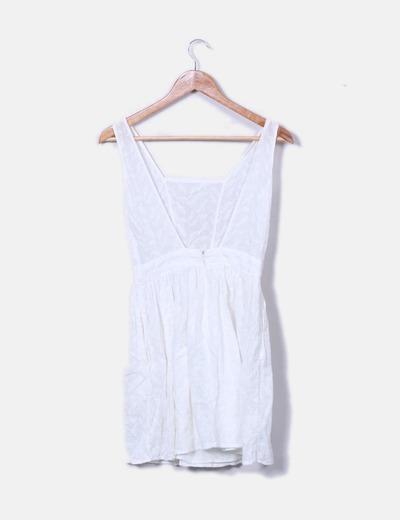 ahorrar elegir original procesos de tintura meticulosos Vestido blanco crochet