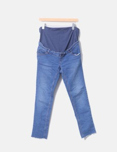 b2c9c4307ca Jeans denim premamá azul Kiabi