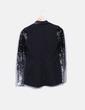 Blazer preto combinado Style