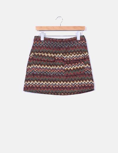 Mini falda rooibos tea multicolor First and I