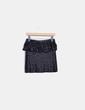 Mini jupe noire à paillettes Asos