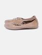 Zapato beige con tachas Alpe
