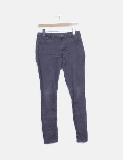 Jeans skinny gris slim fit