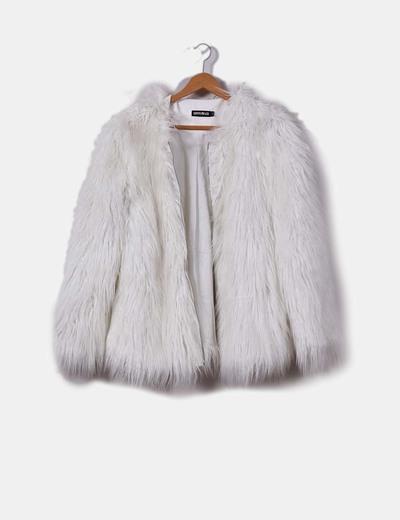 más nuevo mejor calificado disfruta del mejor precio gran variedad de estilos Chaquetón pelo sintético blanco
