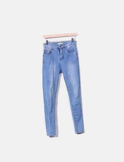 Pantalon en denim ajusté Sixte Jeans