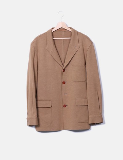 8ef3e1467bd59 El Corte Inglés Manteau marron long (réduction 93%) Micolet