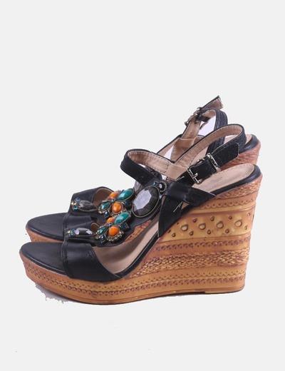 Sapatos de cunha Tino González