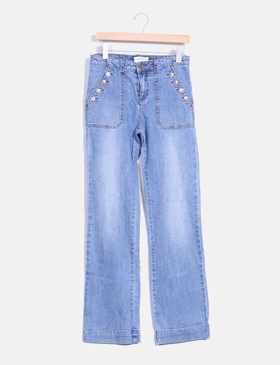 Jeans corte recto  Stradivarius