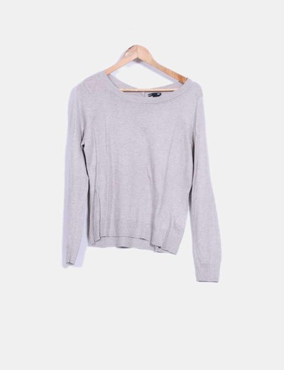 Top tricot beige