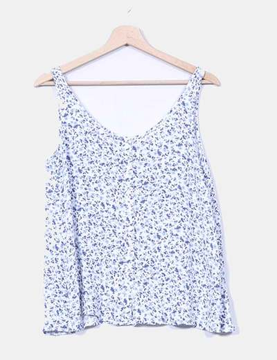 Top floral Stradivarius
