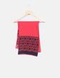 Bufanda roja con logotipo  Pedro del Hierro