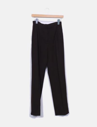 Pantalon vestir marron El Corte Inglés
