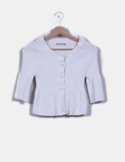 Cárdigan corto blanco Easy Wear