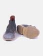 Botín gris combinado con elástico Neon Boots