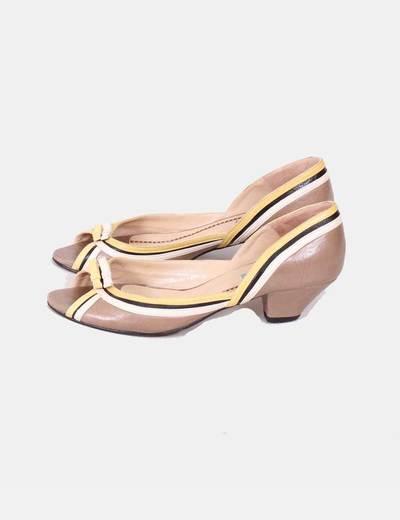 Zapato rayas colores Rebeca Sanver