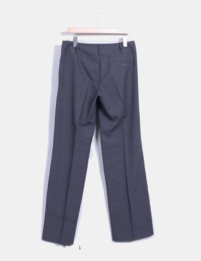 Pantalon de pinzas gris