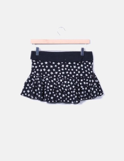Falda pantalon print calaveras